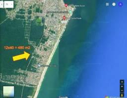 Terreno de Praia 12x40 em Balneário Nereidas