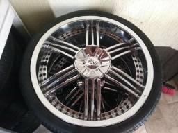 """Roda e pneu aro 20"""""""