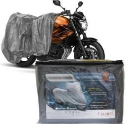Capa Cobri Moto Forrada 100% Impermeável