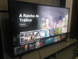 Smart tv 48 polegadas c/ wiff Netflix tv grande pra toda família
