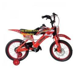 Bicicleta Infantil Moto Aro 16 Unitoys