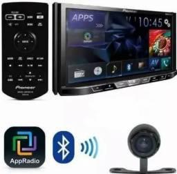 Pioneer Dvd Auto 2 Din Avh-x598 Tv Digital Bluetooth Mp3