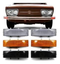 Par Lanterna Dianteira Brasilia Variant 1972 a 1976