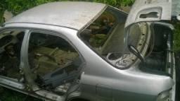 Honda Civic 98 99 2000 Carcaça traseirão sem acessórios somente a carcaça traseira