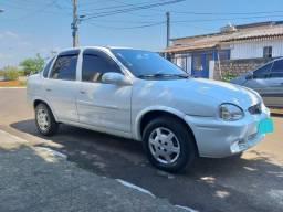 Corsa sedan COMPLETO 2002 1.0 8v ar gelando - 2002