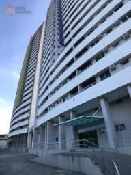 Apartamento com 2 dormitórios para alugar, 57 m² por R$ 1.600/mês - Ponta Negra - Natal/RN