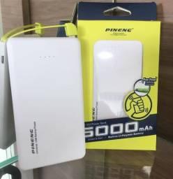 Carregador Portatil Pineng 5000mah ( Loja na Cohab)-Total Segurança na Sua Compra
