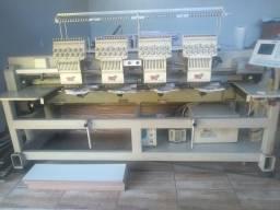 Máquina de bordar M7 4 cabeças bordadeira