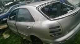 Vidro da porta Fiat Brava Marea lado esquerdo traseiro