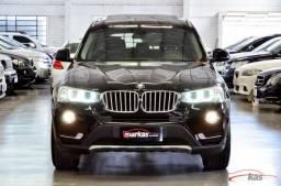 BMW X3 bmw x3 xdrive 2.0 20i 184hp teto unico dono 61 mil km 4P - 2016