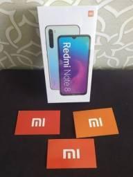 Promoção!! Smartphone Xiaomi Redmi Note 8 64GB Global Novo Lacrado À Pronta Entrega