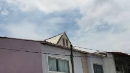 750 telhas coloniais usadas  pintadas de brancas de uma face com 10 anos de uso.