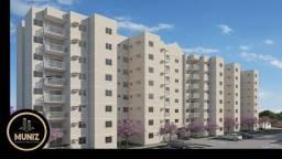 KM Residencial Aurora do Cais, Apartamento 3 Quartos com Suíte, Centro de Paulista!
