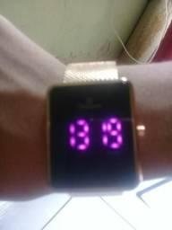 Relógio Champion digital rosê original