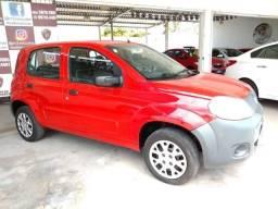 Fiat- Uno Vivace 1.0 Flex, Ar, Dh, Vid, Trava, Pneus Novos, Revisado, Garantia, Novo - 2012