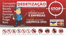 Stop dedetização domiciliar
