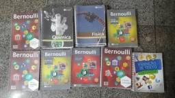 Kit de Apostilas Bernoulli para o Enem -13 apostilas + 1 livro de Redação