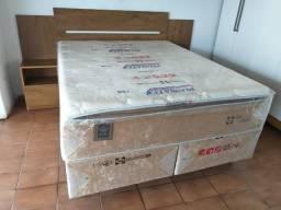 Cama box queen size linha sealy molas ensacadas individualemte/1999