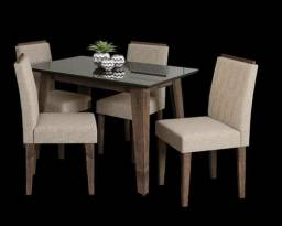 Mesa Lara Com 4 Cadeiras