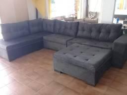 Sofa de canto gigantesco 3.32x2.06preço baixissimo/ 1499 a vista