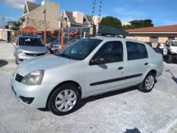 Clio Sedan 1.0 2008 Completo - 2008