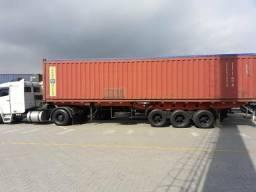 Porta Container 40 pés 8 locks 1986 Randon - 1986