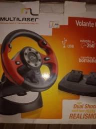Volante GT pc, PS2 e ps3