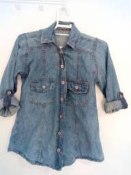 Blusa jeans claro