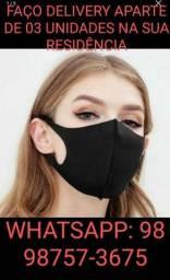 Máscara ninjas infantil e adulto