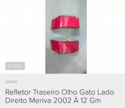 Refletor traseiro para GM Meriva original