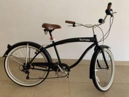 Bicicleta Burnett retrô