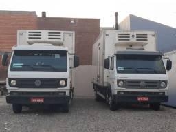 Caminhões Câmara fria para carga de congelados ou resfriados