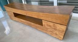 Banco em madeira Maciça - Desing Pedro Petry