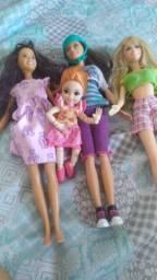 Lote de bonecas Mattel