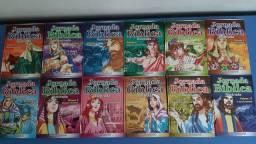 COLEÇÃO BÍBLICA INFANTIL contendo 12 livros