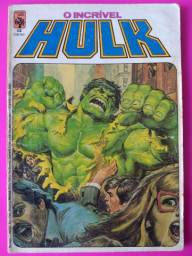O incrível hulk número 12 (1984) marvel comics / abril