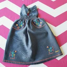 Vestido Jeans bordado - Marisol