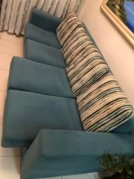Sofá 4 lugares com assento retrátil