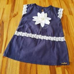 Vestido Marisol Azul Marinho