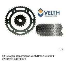 Vendo kit relação moto bros 125-150-160