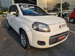 Título do anúncio: Fiat Uno 2016 Evo Vivace Completo 1.0 Flex 4 Portas Novo