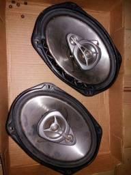"""2 alto falantes Pioneer 6x9 TS-E6990 240w Modelo Original ?Made in Japan"""""""