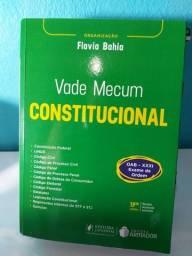 Vade Mecum Constitucional para Exame de Ordem - Flávia Bahia