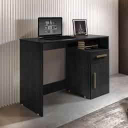 Título do anúncio: Mesa escrivaninha isabelle 9435 1 gaveta e 1 porta - receba rápido e pague na entrega!!!