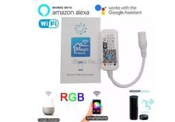 Controlador Wi-fi Para Fita Led Rgb Novo