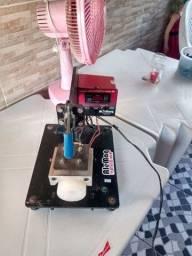 maquina de personaliza copo long drink e caneca de acrílico