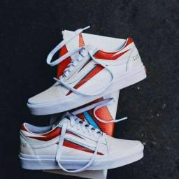 Tenis Vans Old Skool David Bowie Edição Limitada