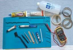 kit para manutenção de celular