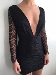Título do anúncio: Vestido Renda / NOVO/ Tam P/ R$40,00