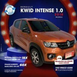 Título do anúncio: Kwid intense 1.0  2019